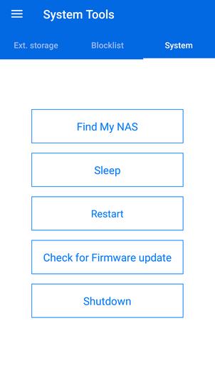 Mobile App   QNAP