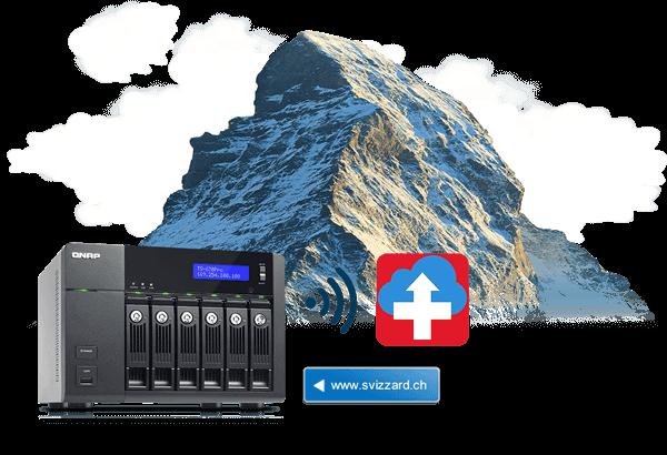NAS-Backup in die sichere Schweizer Cloud