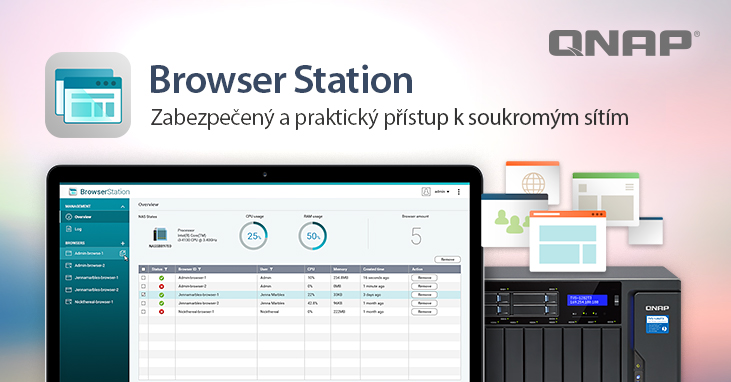 Browser-Station