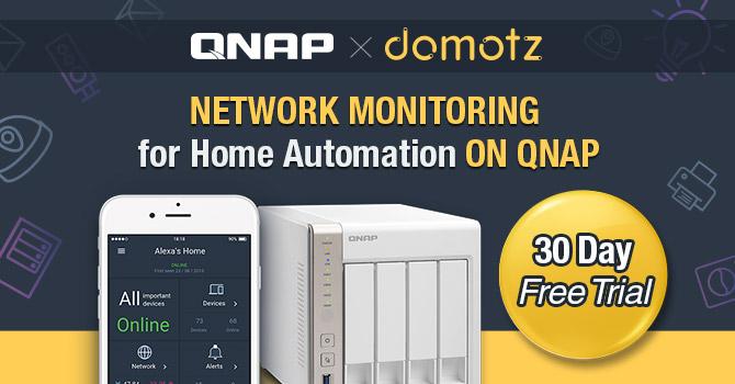 QNAP App Center Adds Domotz Pro System for Home Automation