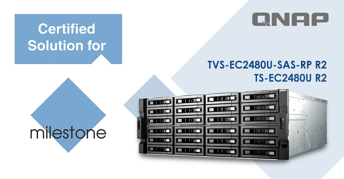 QNAP NAS Completes Milestone Solution Certification