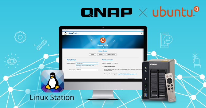 QNAP x Ubuntu