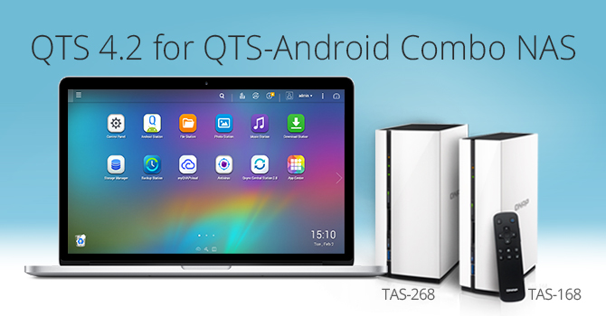 QTS 4.2 for QTS-Android Dual-system NAS