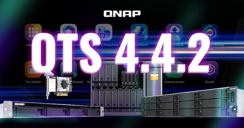 QTS 4.4.2 - Nuova release dell'OS per NAS di QNAP