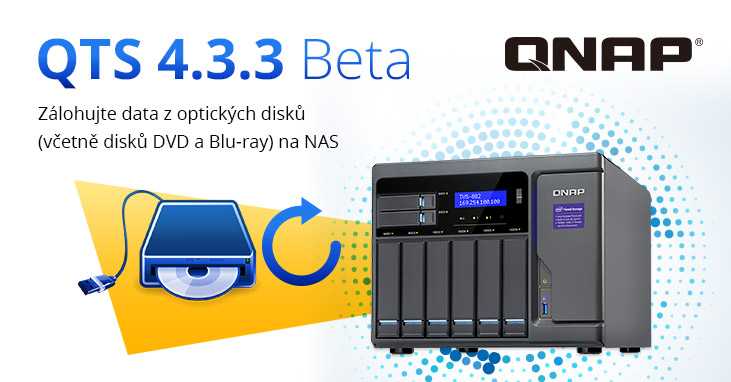 QTS 4.3.3 BlueRay Backup