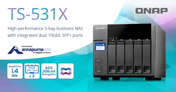 TS-531X NAS Press Release