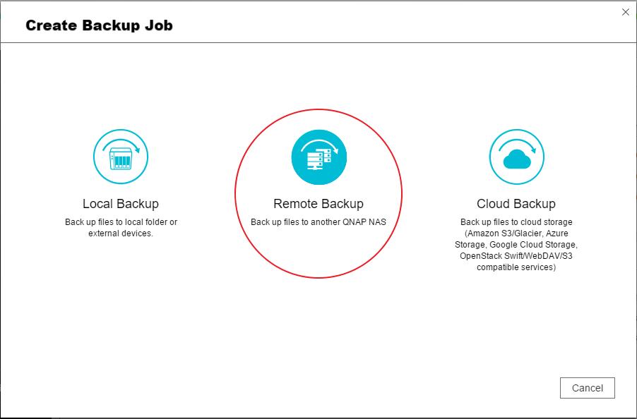 [Hướng dẫn]Sử dụng QNAP Hybrid Sync Backup để sao lưu / khôi phục / đồng bộ hóa dữ liệu - 172875