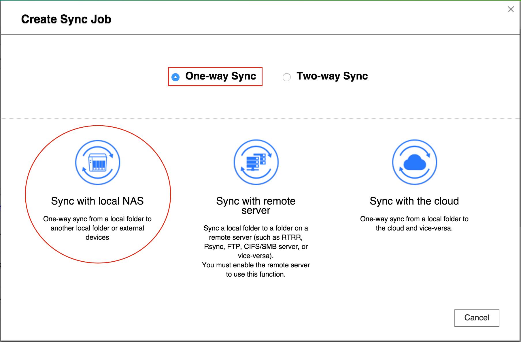 [Hướng dẫn]Sử dụng QNAP Hybrid Sync Backup để sao lưu / khôi phục / đồng bộ hóa dữ liệu - 172859