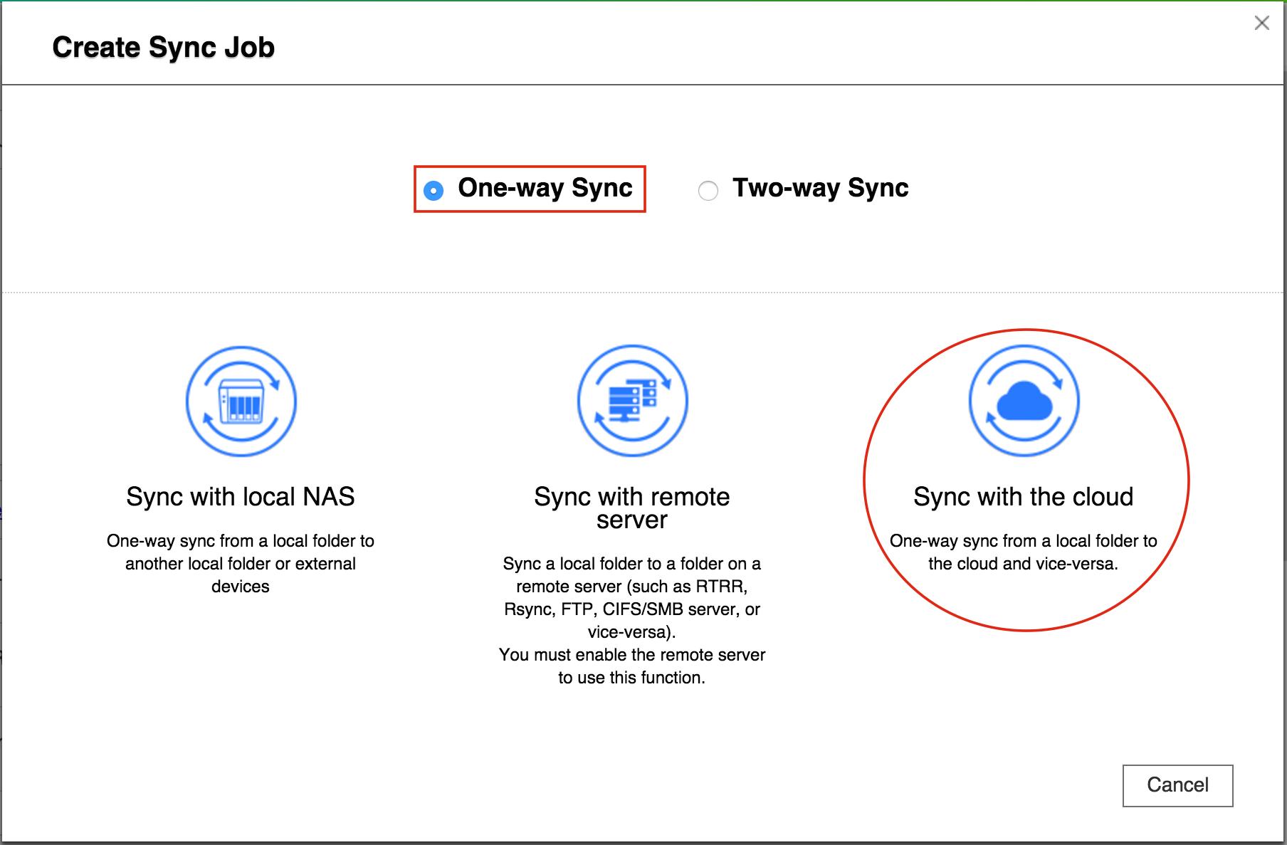 [Hướng dẫn]Sử dụng QNAP Hybrid Sync Backup để sao lưu / khôi phục / đồng bộ hóa dữ liệu - 172871