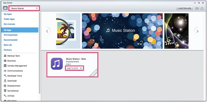 QTS 4.3 mới với Music Station V5.0, Video Station V5.0 và OceanKTV cho giải trí đa phương tiện - 175825