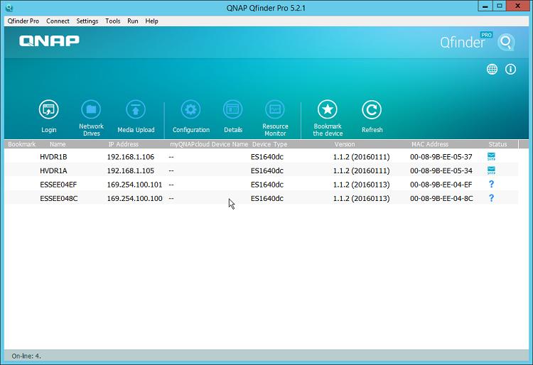 Quick Setup for QNAP ZFS Supported ES (Enterprise Storage