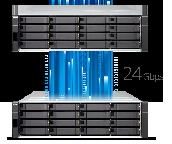 QNAP NAS High density high efficiency