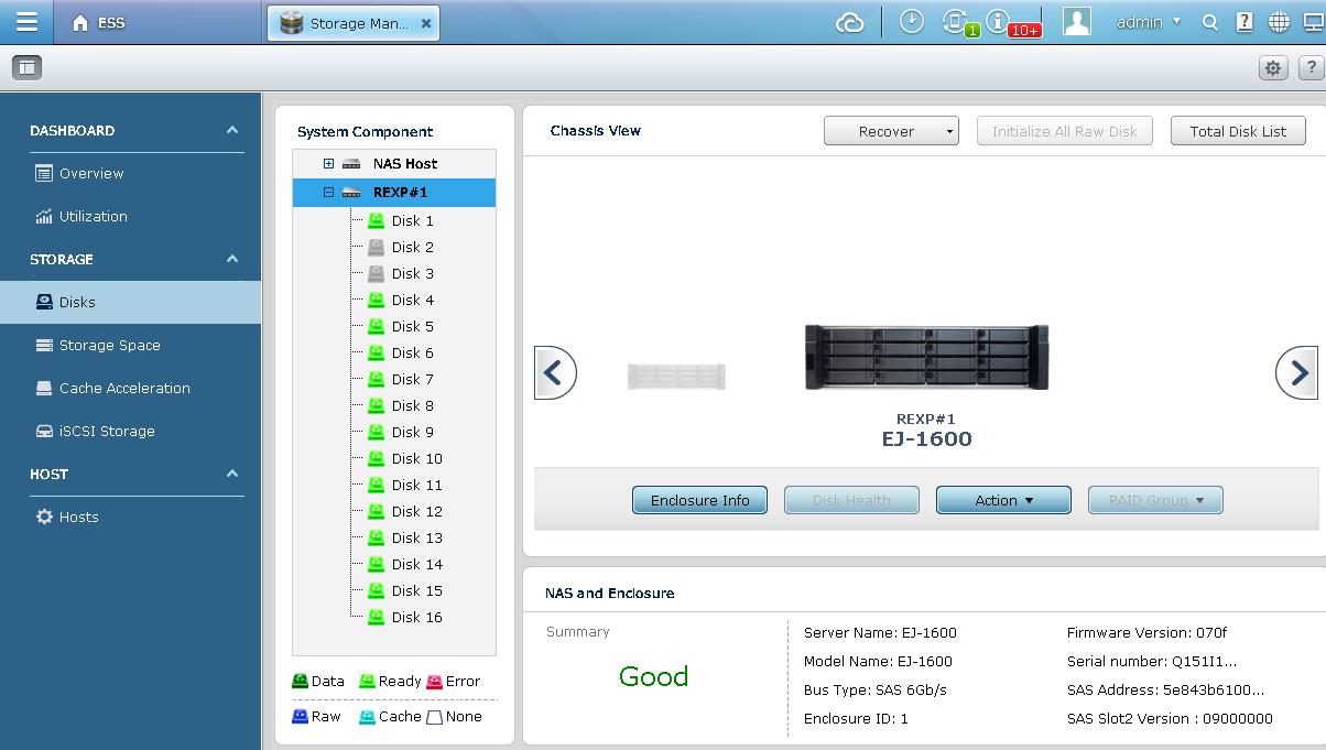 QNAP NAS Intelligent Storage Manager