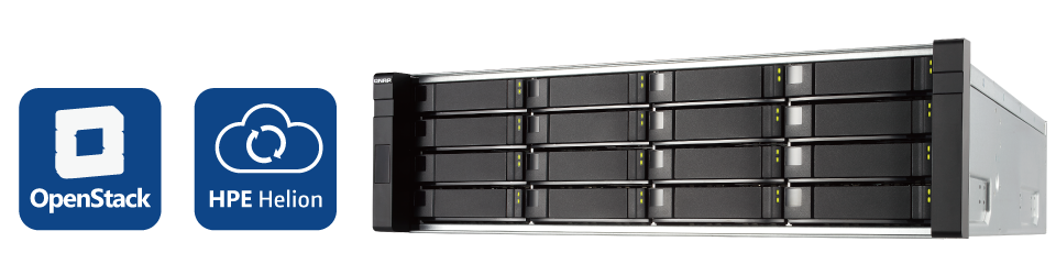 QNAP NAS Compatible with HPE Helion