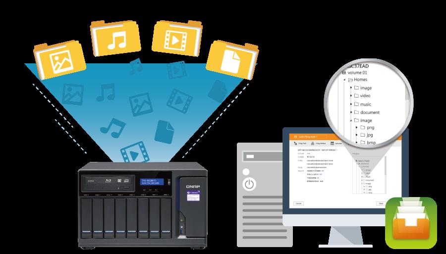 QNAP NAS Qfiling automates your file