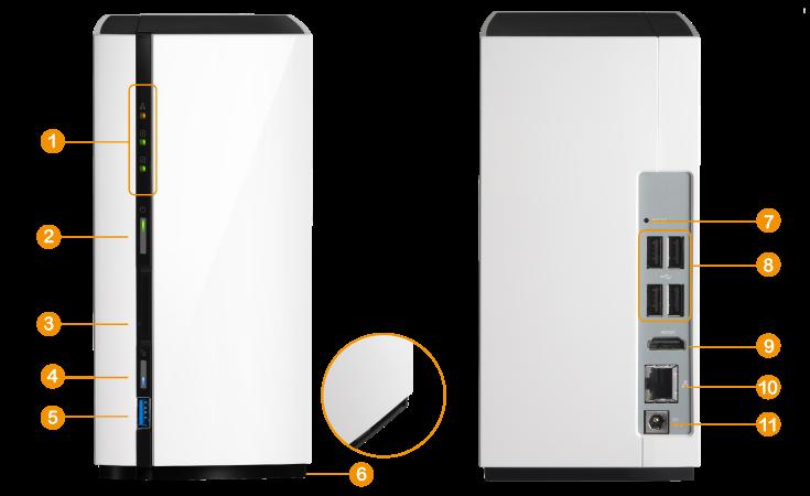 QNAP TAS-268 Dual Bay NAS review android, NAS, QNAP, RAID 0, RAID 1 1