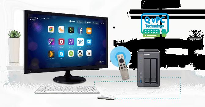 QNAP NAS QvPC Technology