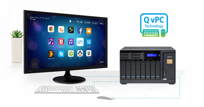 QNAP NAS Use as a PC