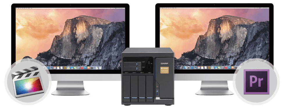 QNAP NAS Optimal collaboration