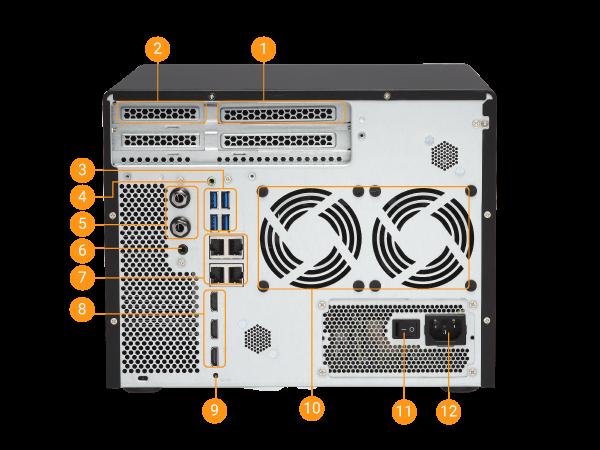 QNAP TVS-882-i3-8G-US (NAS) Network Storage