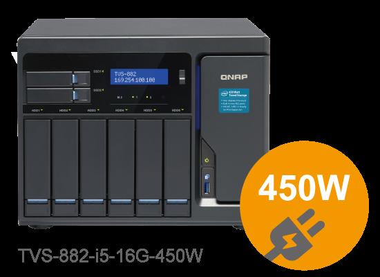 QNAP NAS 450w power supply