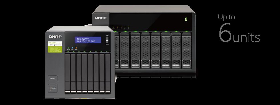 QNAP NAS Seamless expansion