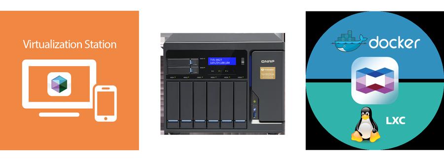 QNAP NAS Storage for hosting virtual machines