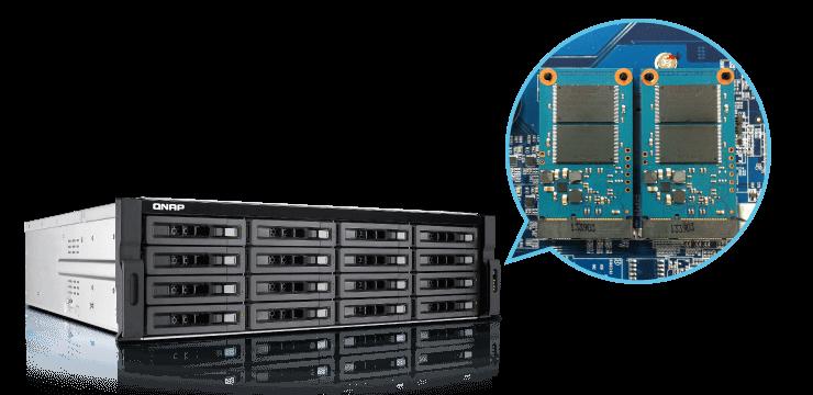QNAP NAS SSD cache acceleration