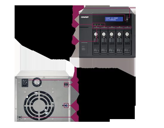 QNAP NAS UX-500P
