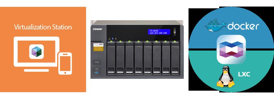 QNAP NAS Born for server virtualization
