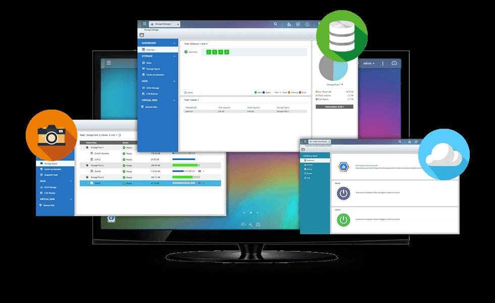Optimierte Speicherverwaltung und -sicherung