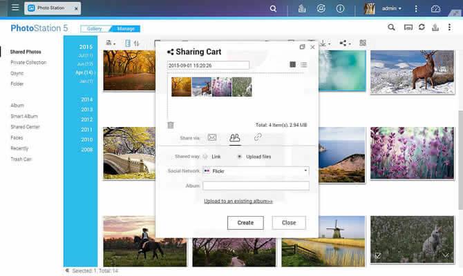 Photo Station - Sharing Cart