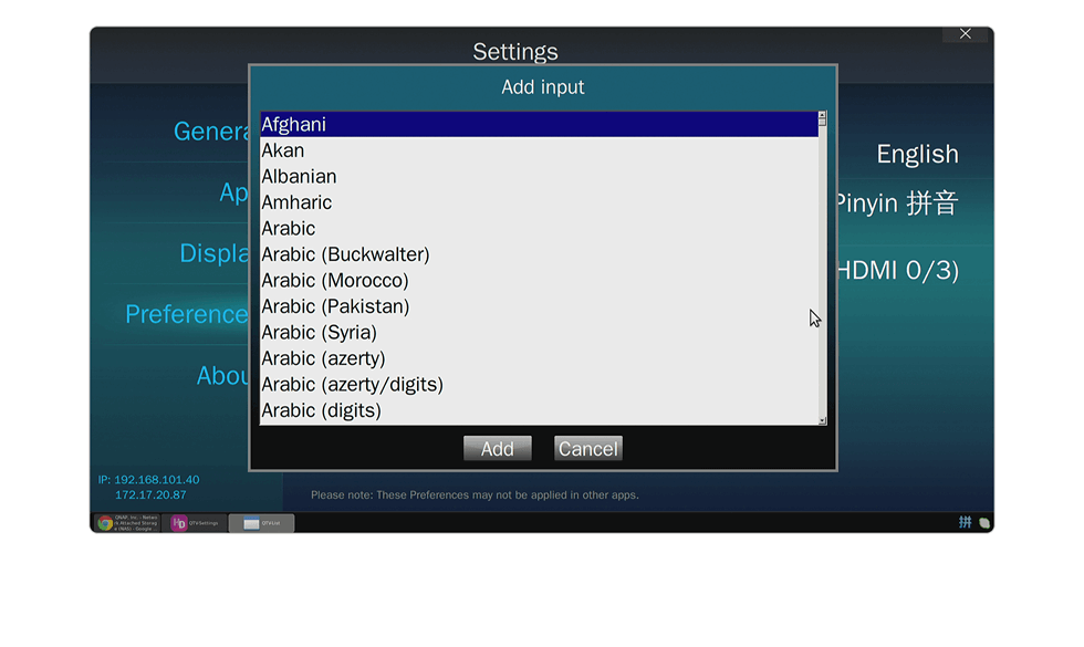 Multilingual Keyboard and Input