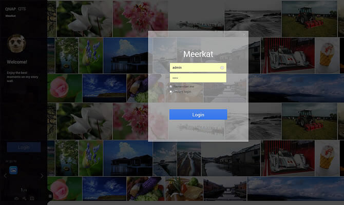 Revamped Interface - Login Window
