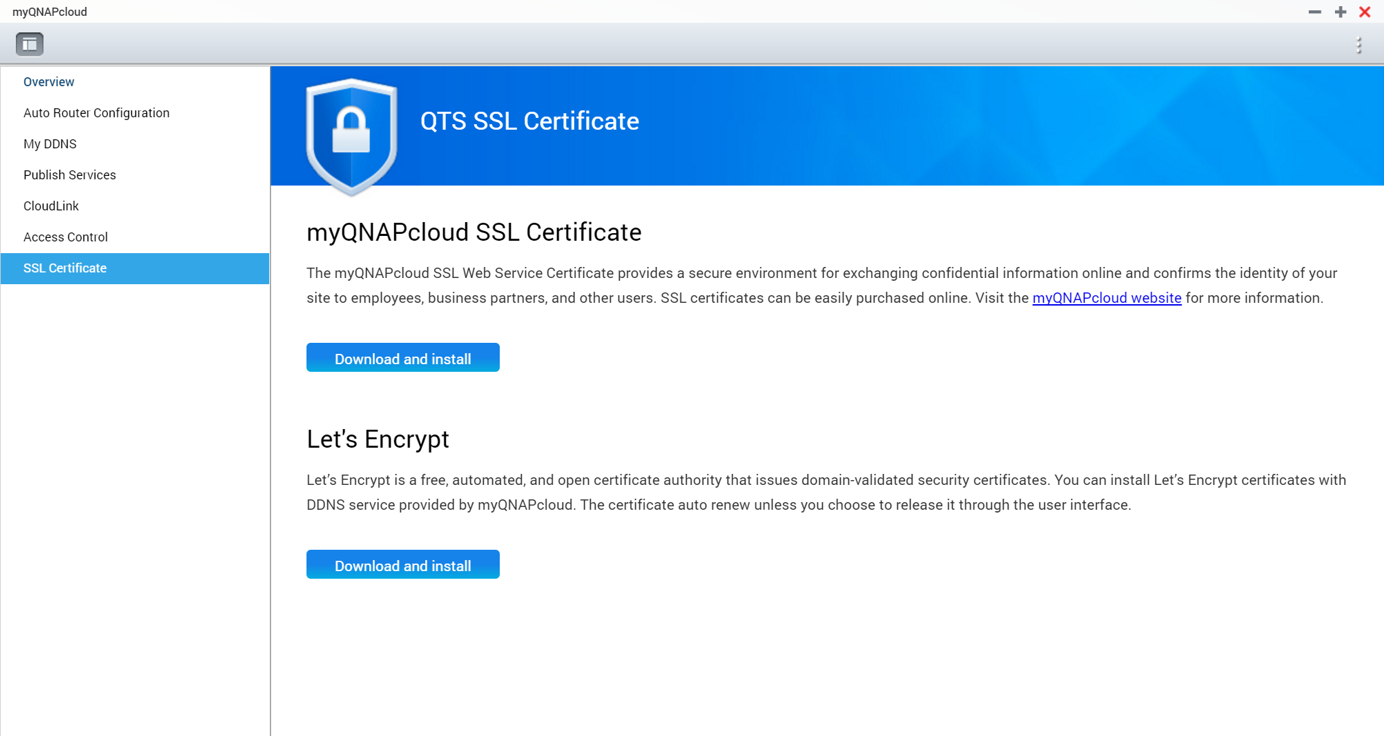 Qts ssl certificate qnap select utilities nas qnap 1betcityfo Image collections
