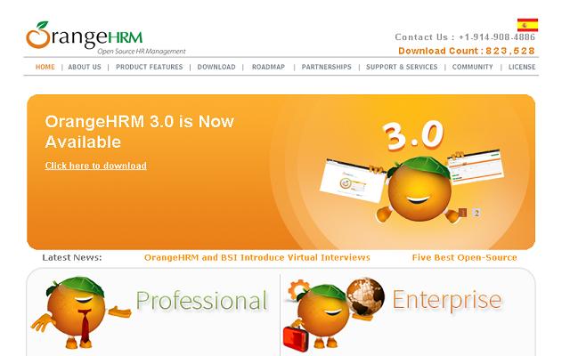 OrangeHRM :: More 、 Business NAS :: QNAP
