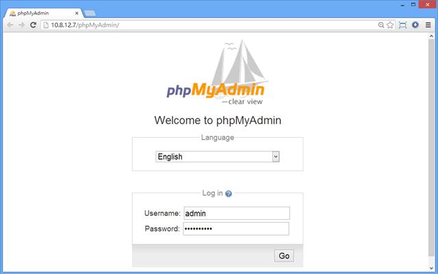 phpMyAdmin on QNAP NAS