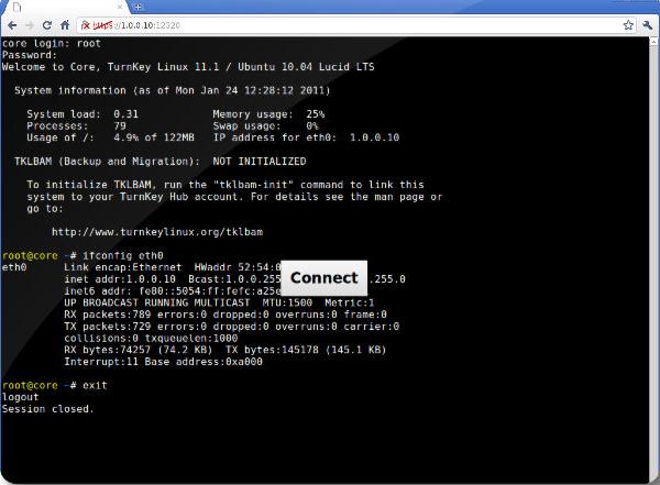 shellinabox :: More 、 Utilities NAS :: QNAP